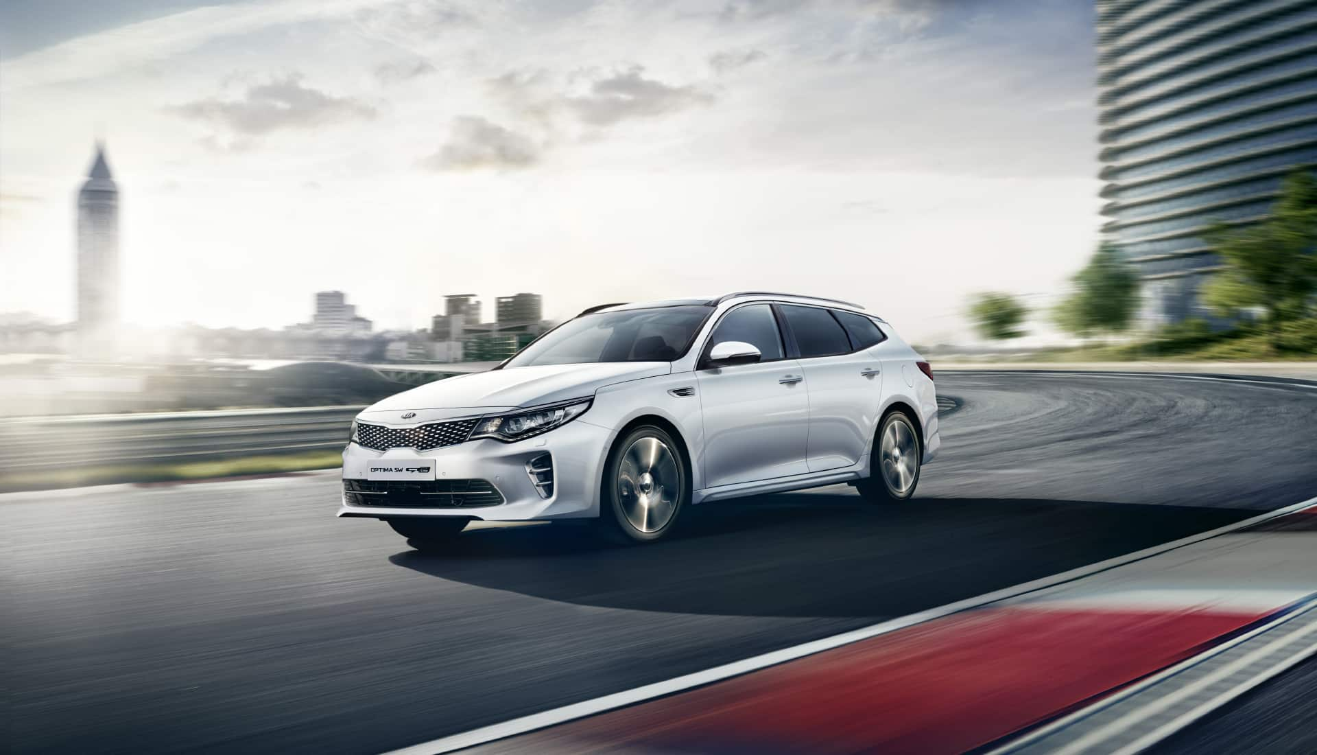 Berline Kia Optima SW