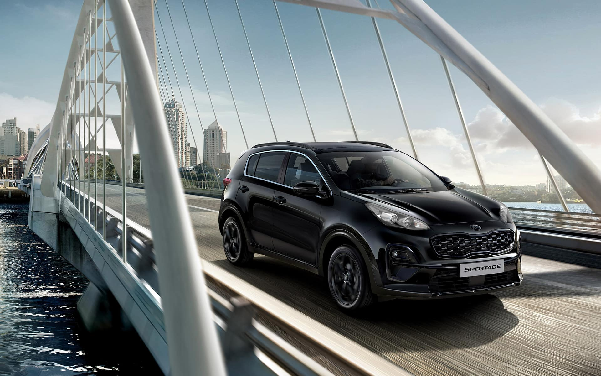 Le design du Kia Sportage Black Edition