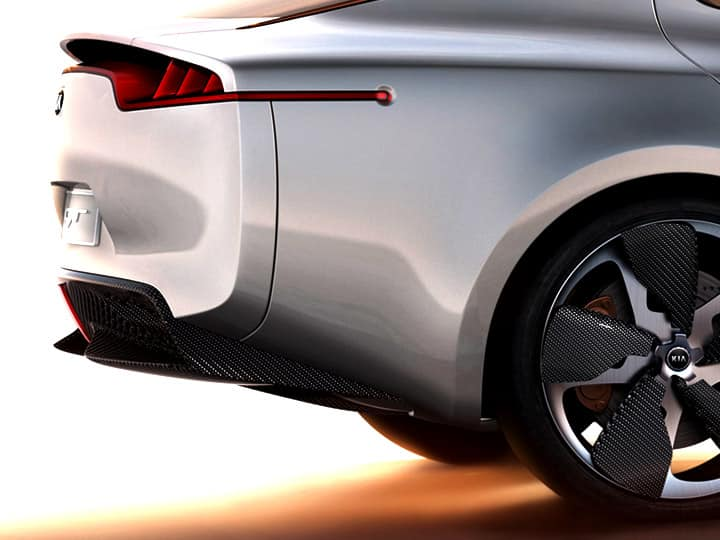 Concept-car GT Kia : berline sportive quatre places
