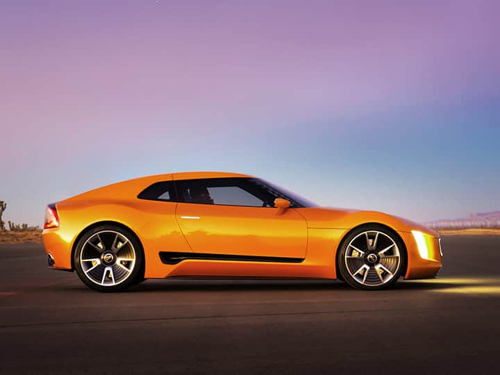 Concept-car Kia GT4 Stinger : une performance incontestée