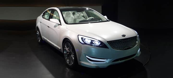Concept-car Kia KND-5 : berline luxueuse et sportive