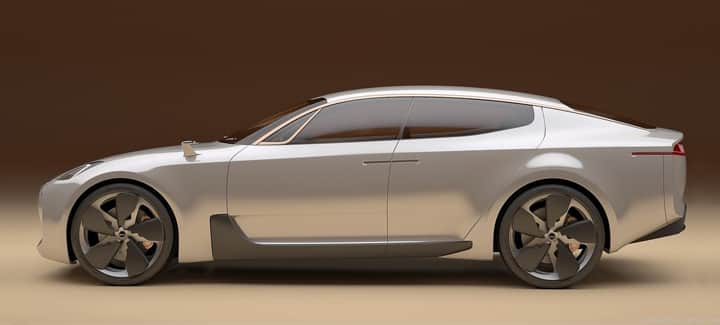 Concept car Kia GT laterale