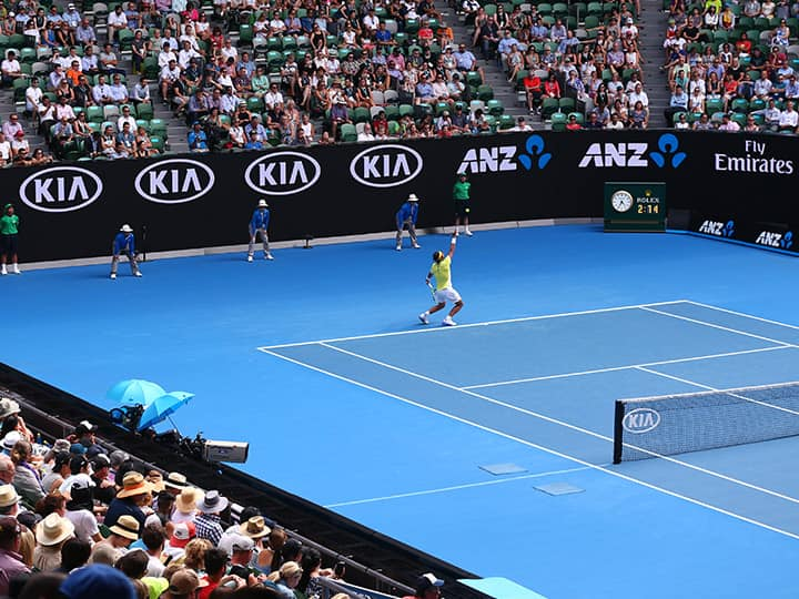 Kia, The Major Sponsor of The Australian Open