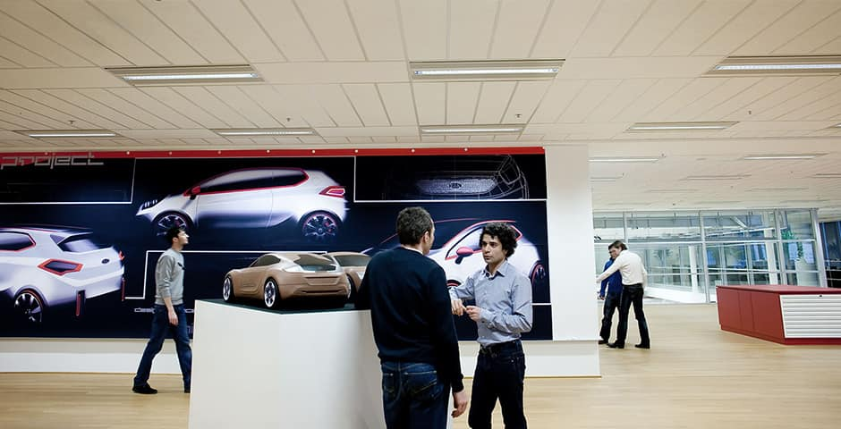 Kia Europa Frankfurt Design Center