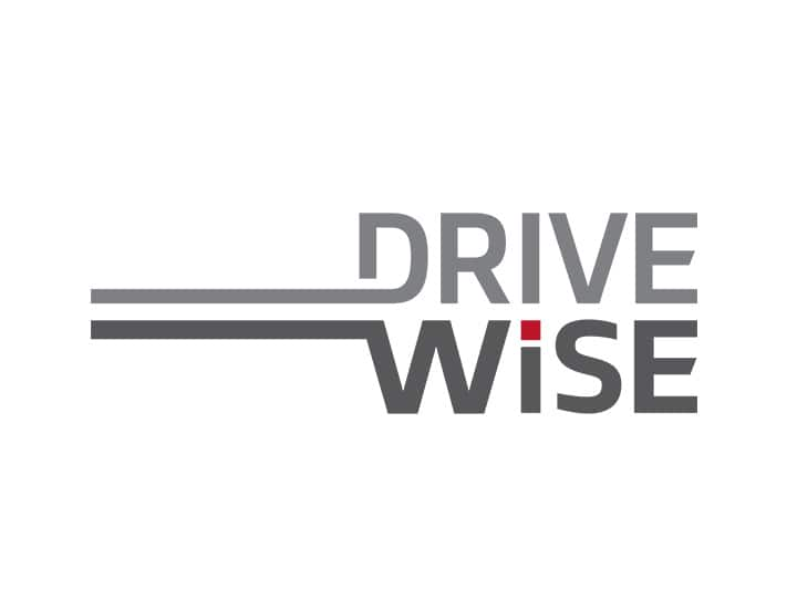 Logotipo de DRIVE WiSE de Kia Motors