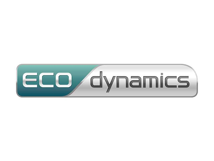 Label Kia Eco dynamics disponible sur la voiture électrique Kia Soul, la berline hybride rechargeable Kia Optima et le crossover hybride Niro.