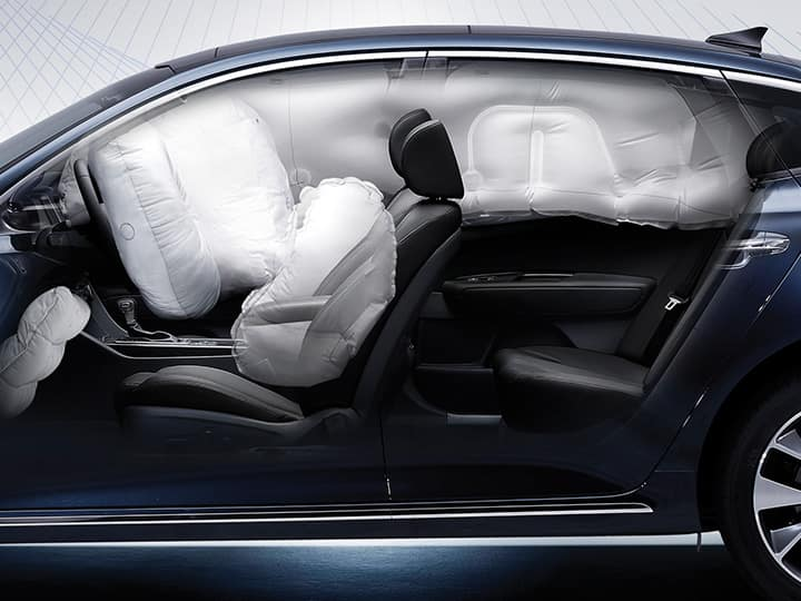 Kia Optima sedan safety airbags