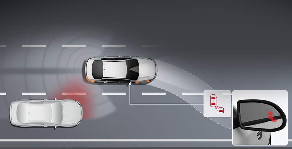Kia Blind Spot Detection (BSD) video