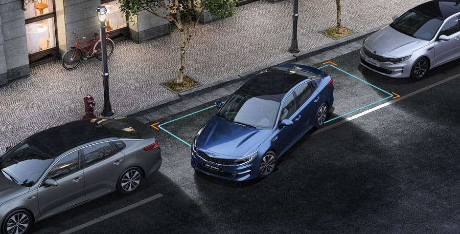 Kia Motors Drive Wise technologieën: Smart Parking Assist System