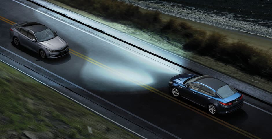 Kia Motors Drive Wise technologies High Beam Assist