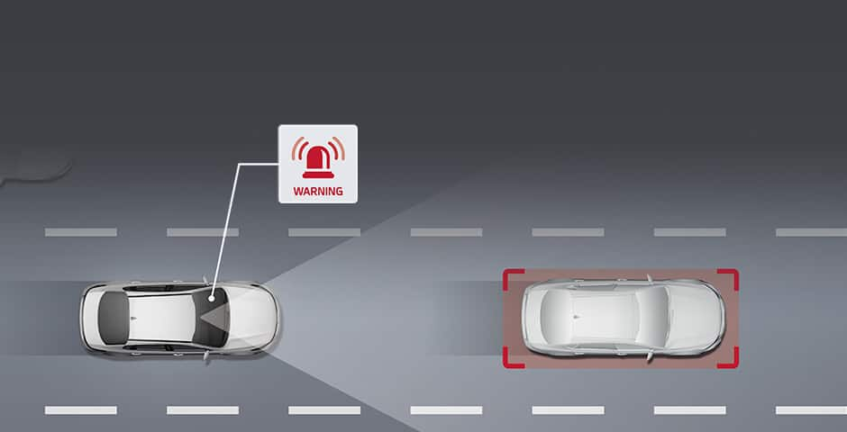 Kia Forward Collision Warning (FCW) video