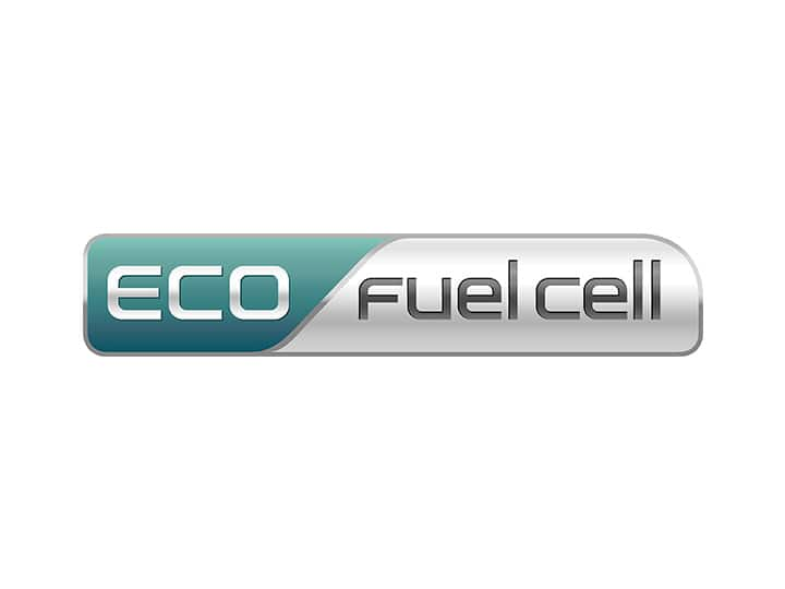 Emblema de ECO fuel cell de Kia Motors