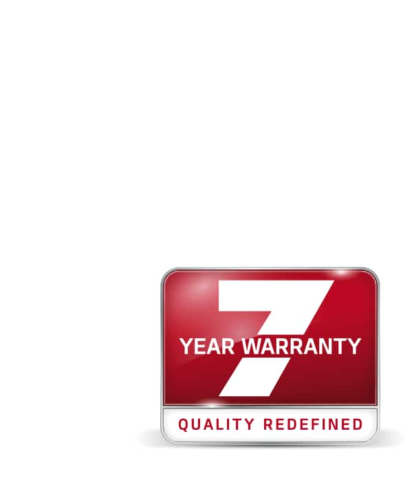 Find out more about Kia's 7 year warranty.