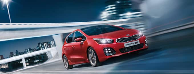 Kia cee'd 5-door outdoor driving