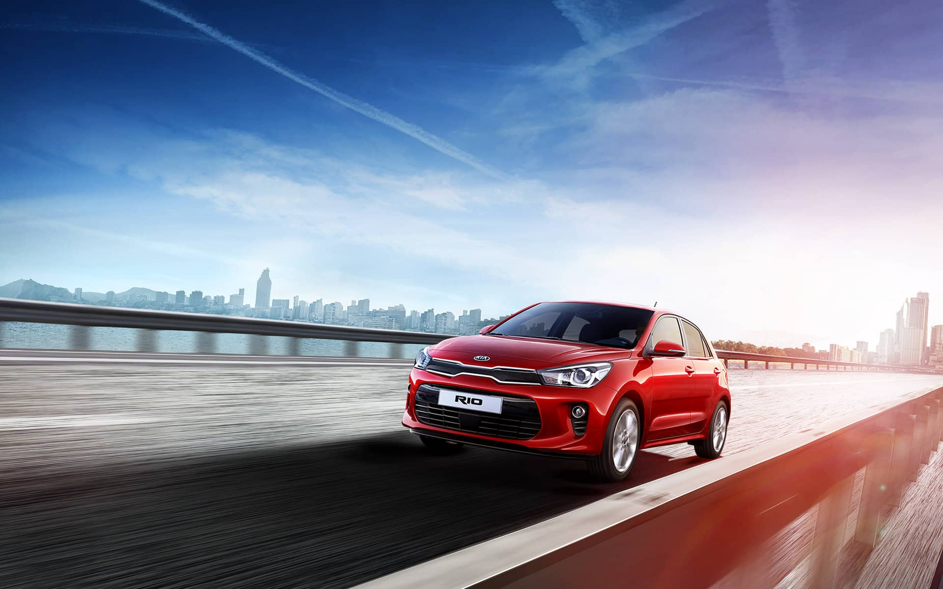 Kia Rio outdoor main banner
