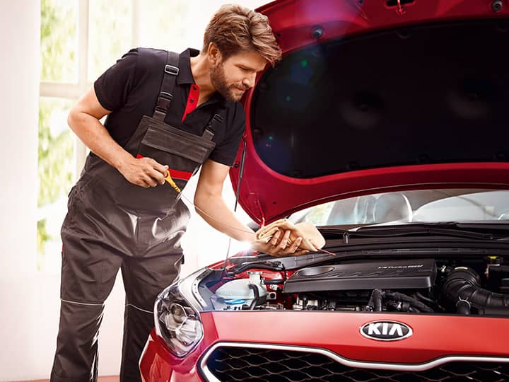 Why choose Kia Genuine Parts and Service?