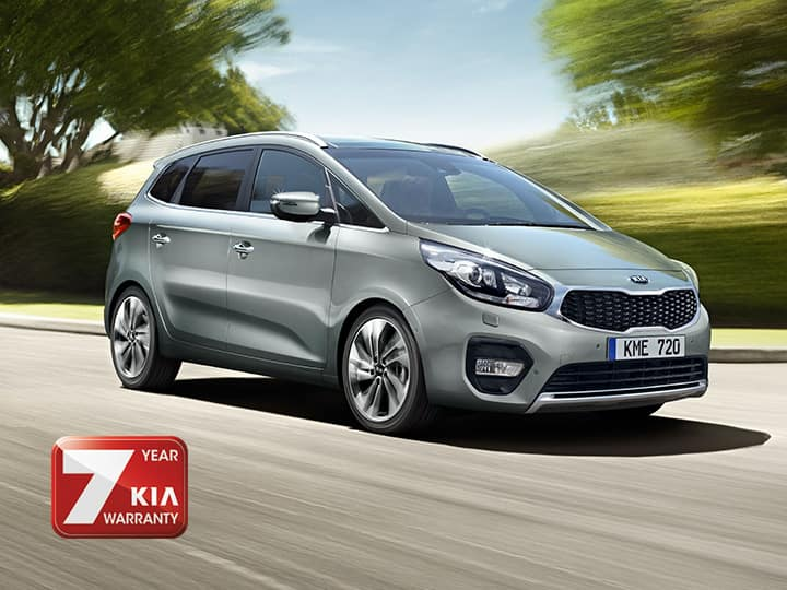 Kia Carens Kia 7-year warranty