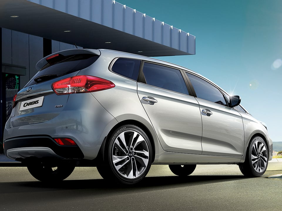 Kia Carens dynamic exterior