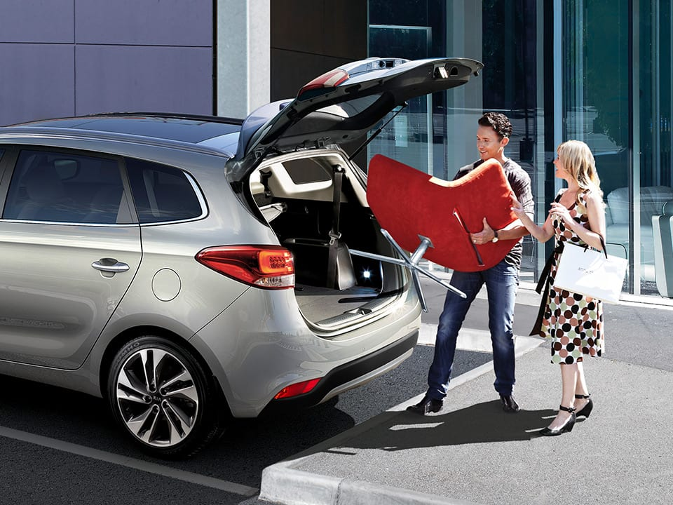 Kia Carens estilo flexible