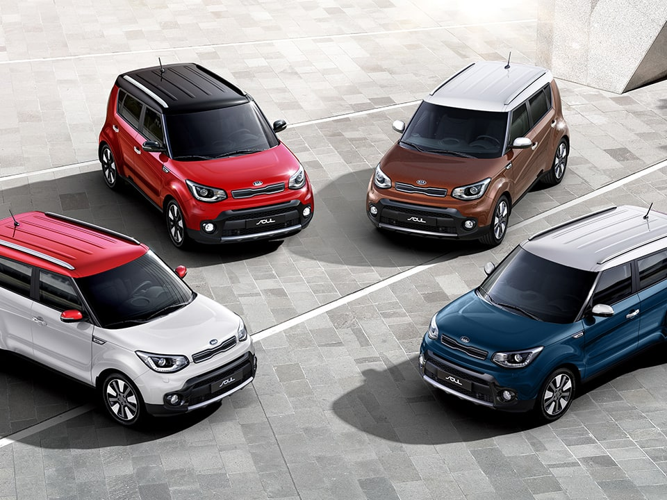 Kia Soul styling options
