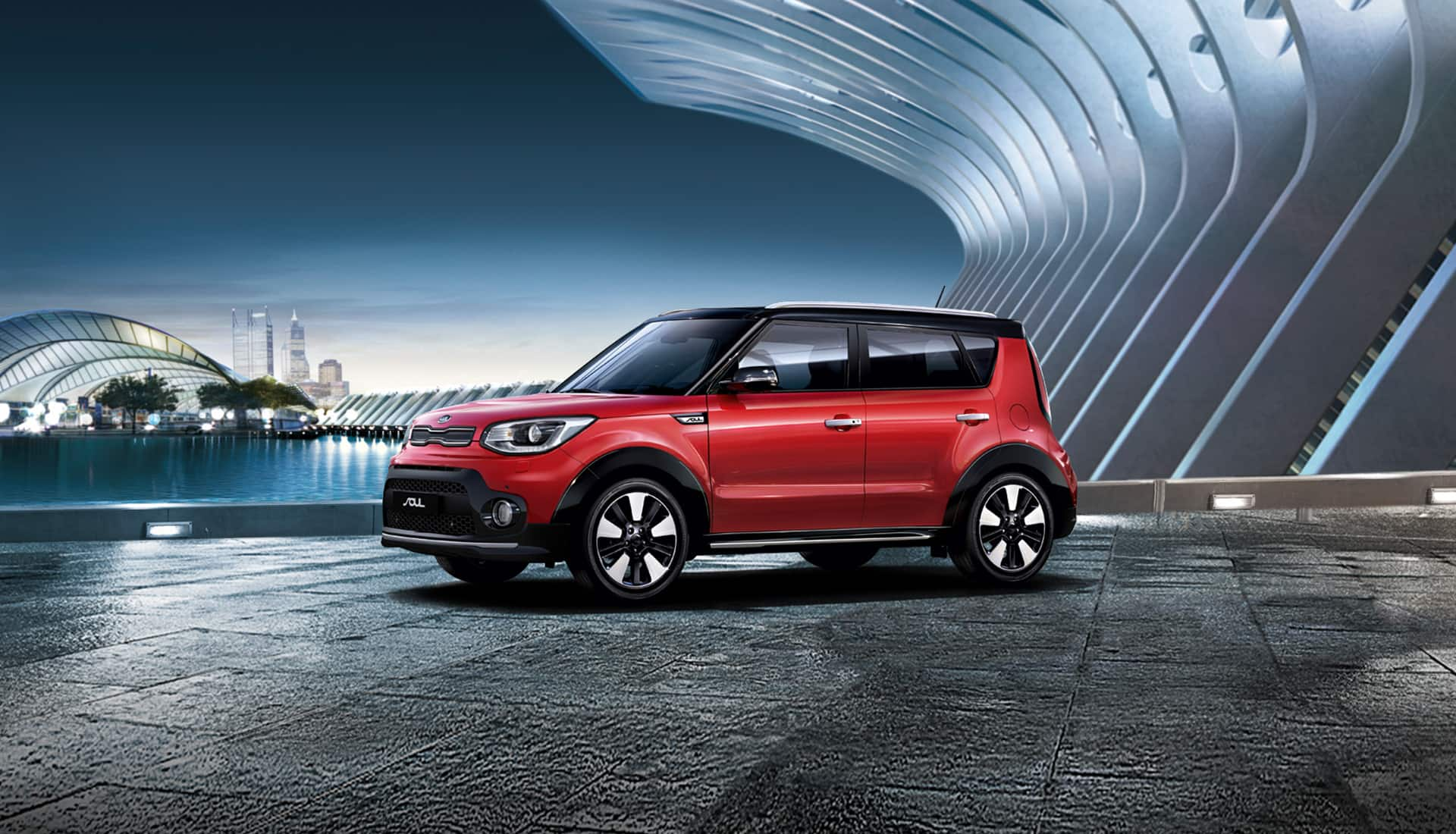 Le crossover urbain Kia Soul a un design unique