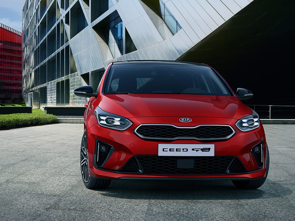 KIA Ceed GT Line forfra