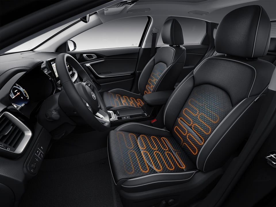 kia ceed sportswagon seating