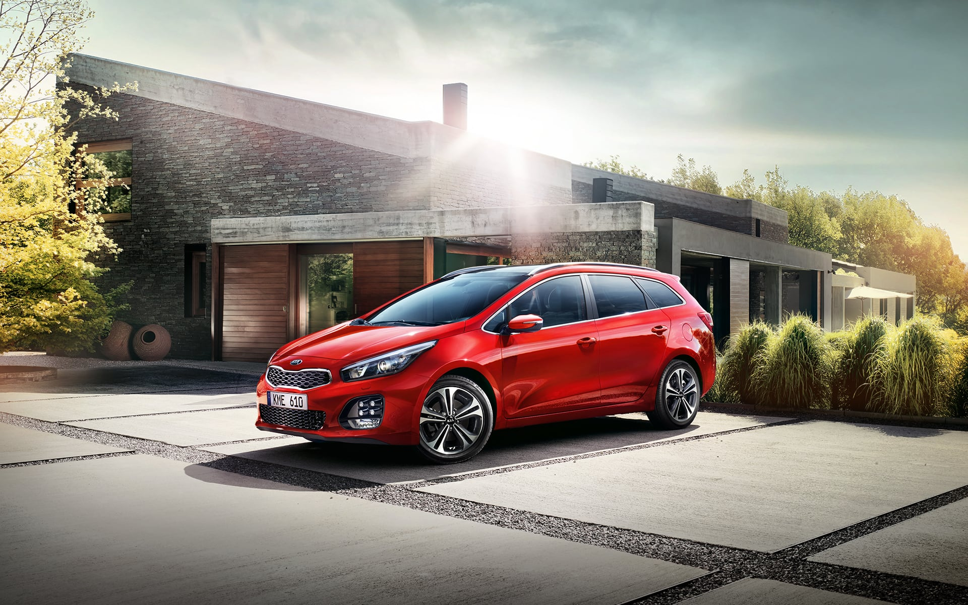 Break Kia cee'd SW - Un design innovant