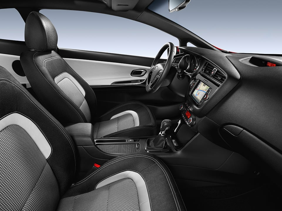 Kia cee'd Sportswagon high-quality materials