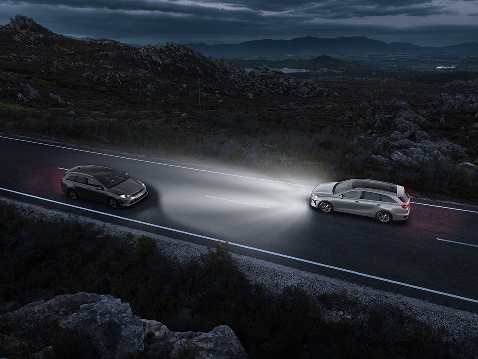 kia ceed sportswagon plug-in hybrid – high beam assist