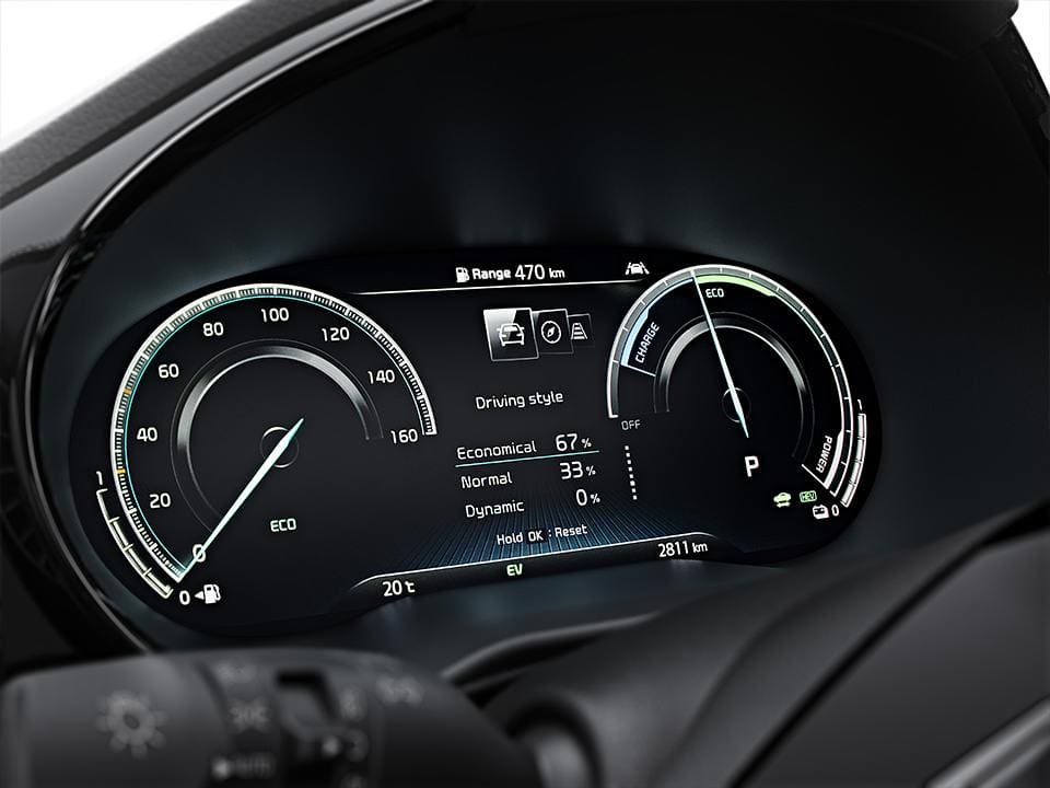 Kia Ceed Sportswagon Plug-In Hybrid Supervision Cluster