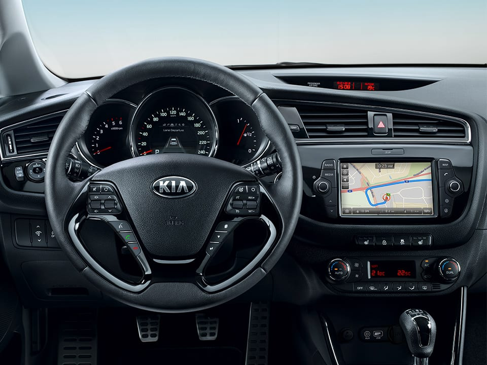 Kia cee'd steering wheel