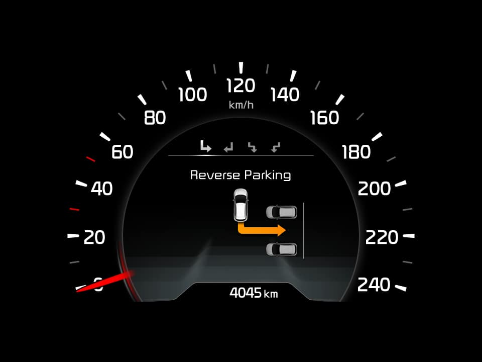 Kia cee'd smart parking assist system
