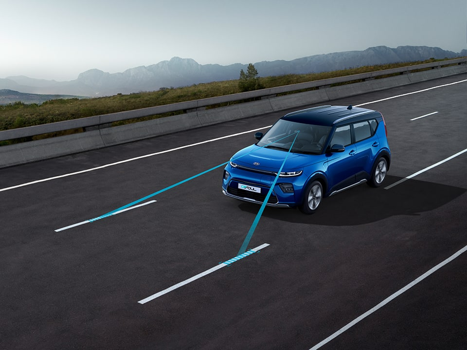 Kia e-Soul with Lane Keep Assist