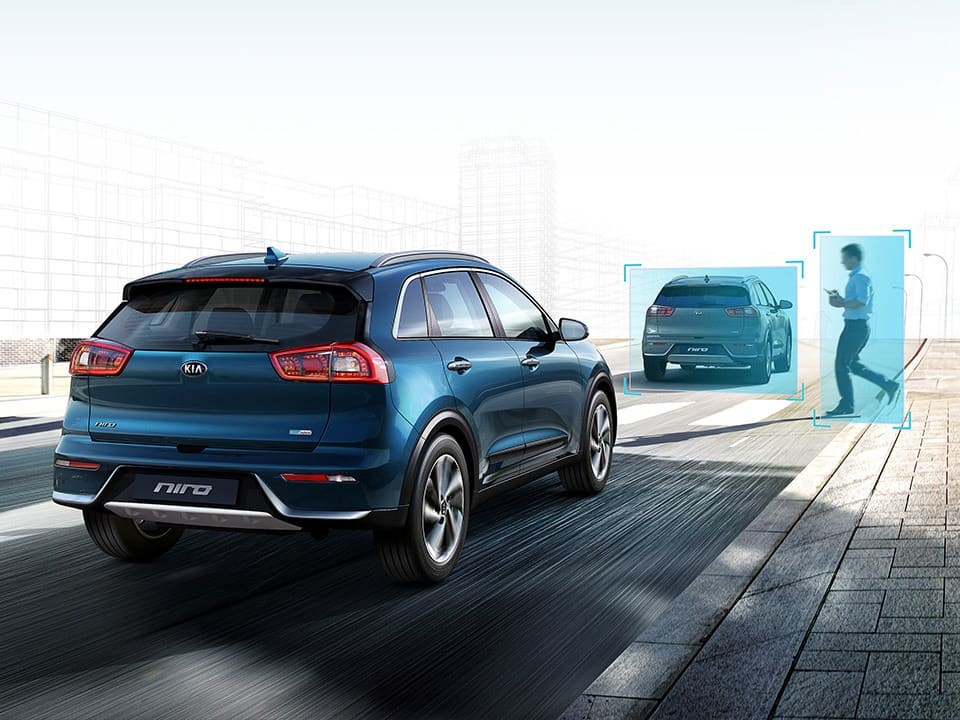 Kia e-Niro Forward Collision-Avoidance Assist