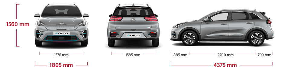 Kia e-Niro specificaties