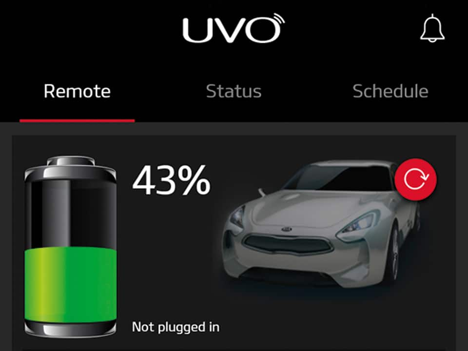 Kia Niro Plug-in Hybrid – UVO Connect-telematicafuncties