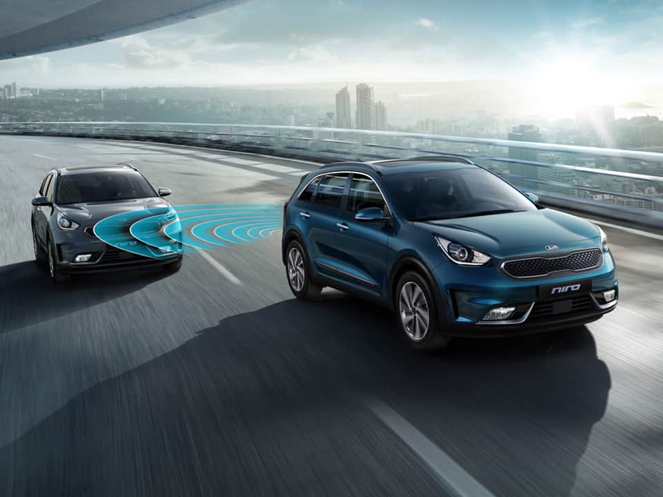 Kia Niro Plug-in Hybrid Blind-Spot Collision Warning