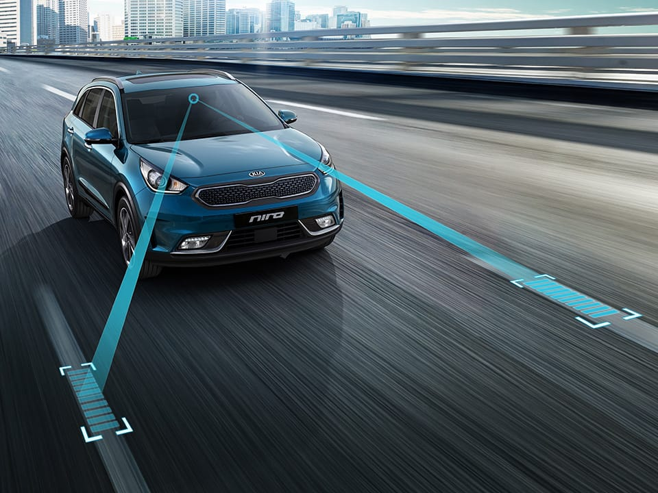 Kia Niro Plug-in Hybrid Lane Keeping Assist