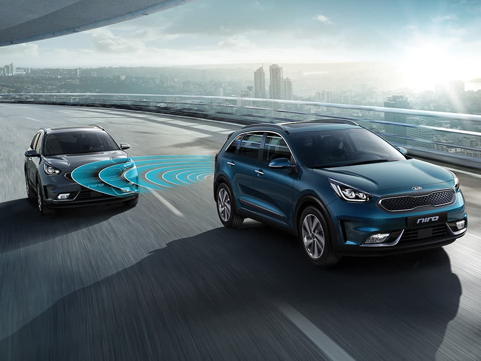 Kia Niro Détection des angles morts