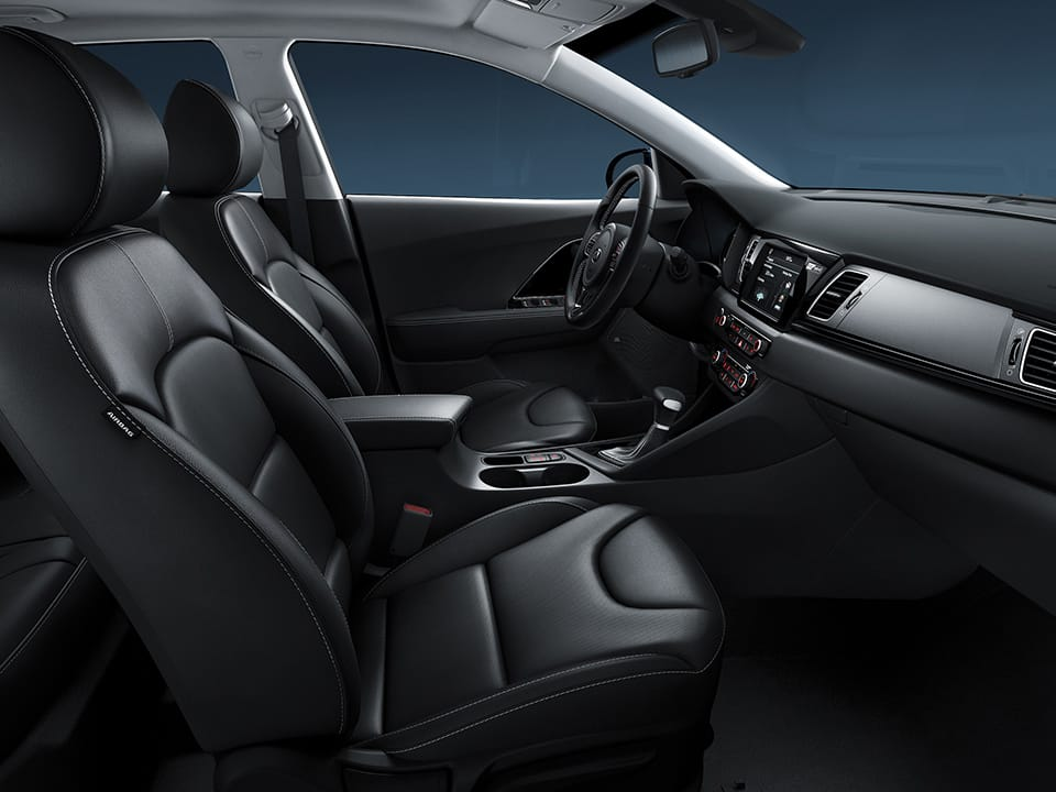 Kia Niro Plug-in Hybrid - Flexibel interieur
