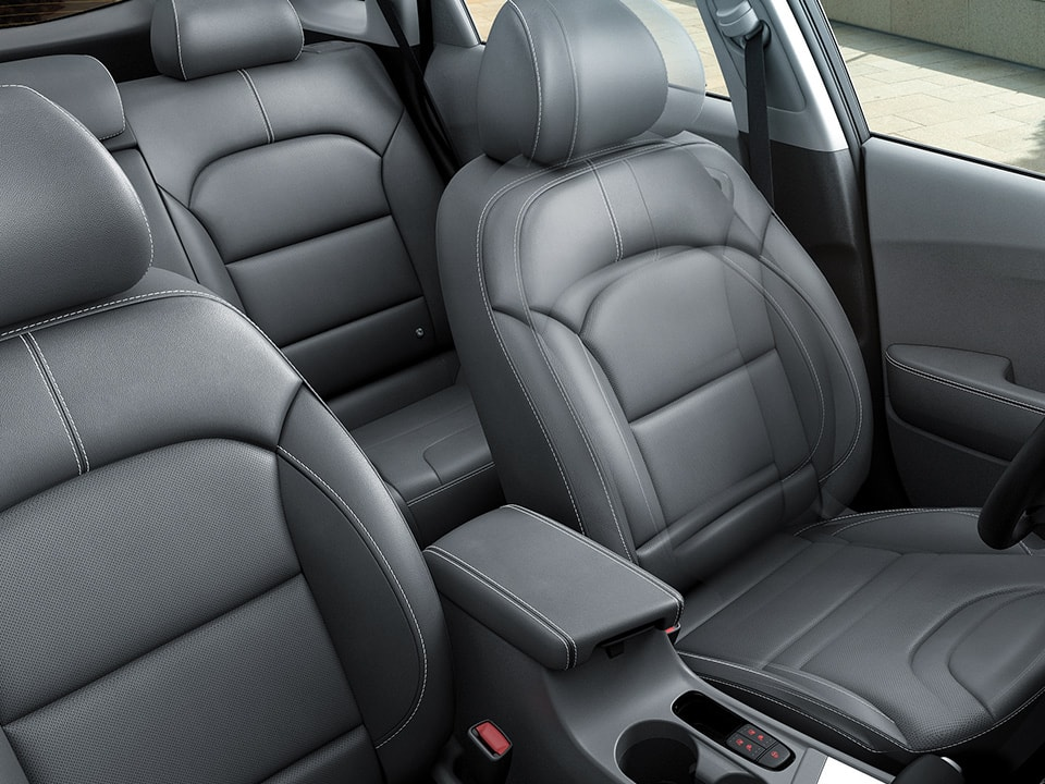 Kia Niro spacious rear seats