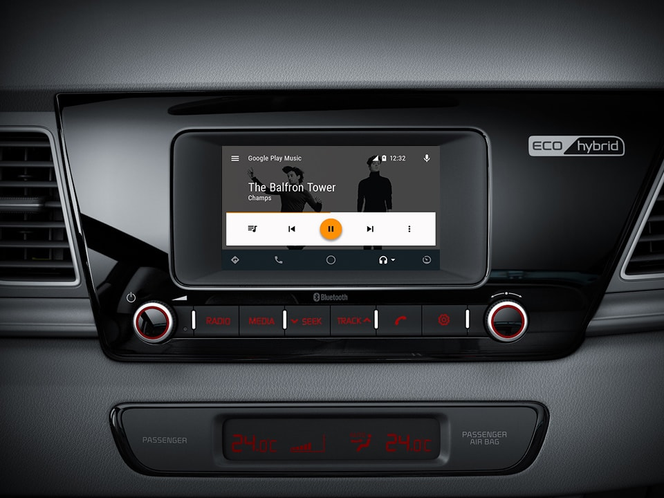 Kia Connected Services (powered by TomTom) und Android Auto™