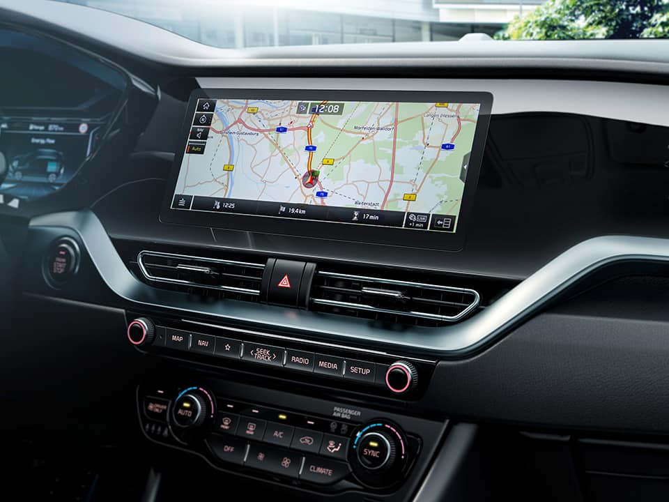 "KIA Niro 10,25"" navigations-touchscreen"