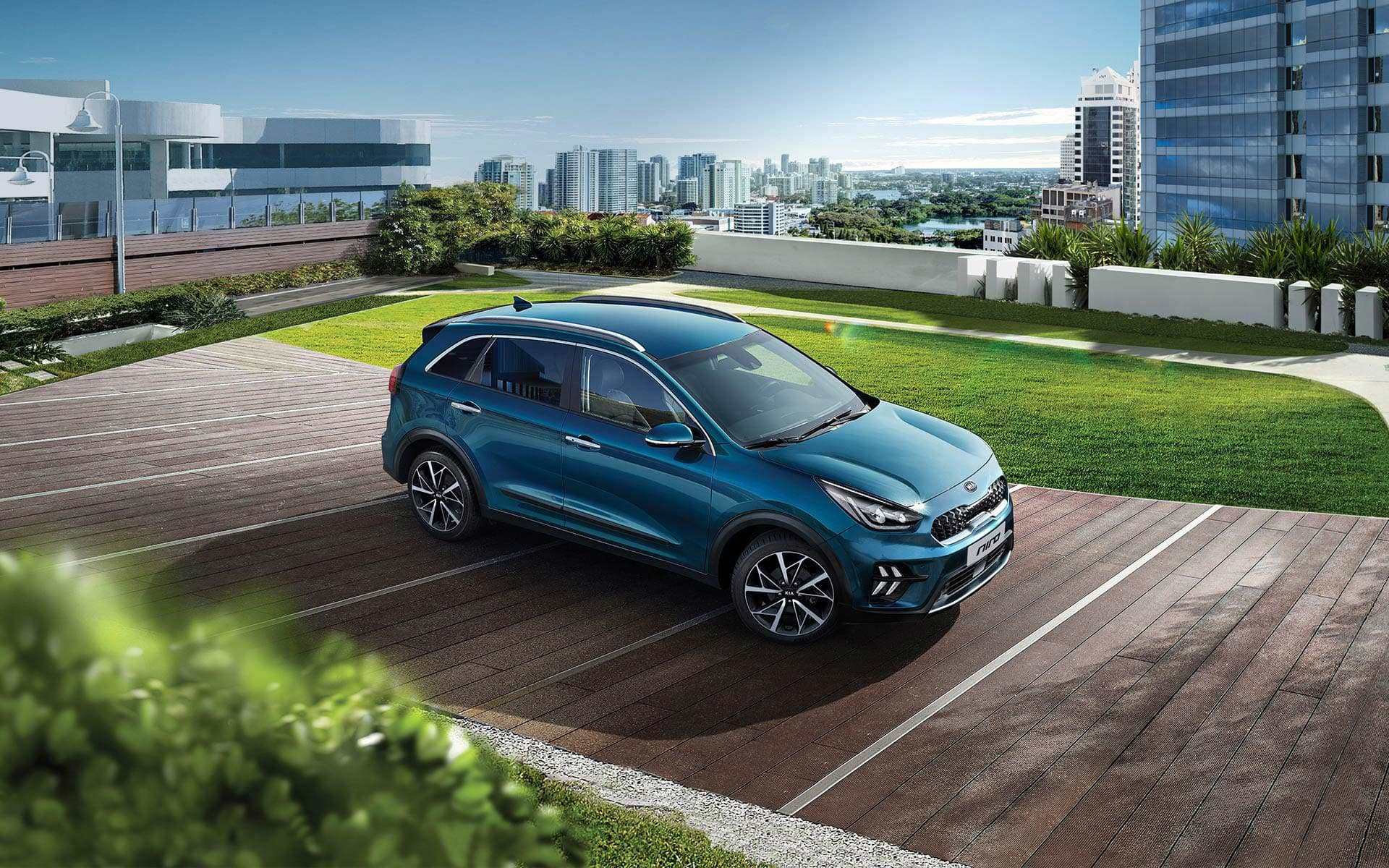 KIA Niro crossover-design