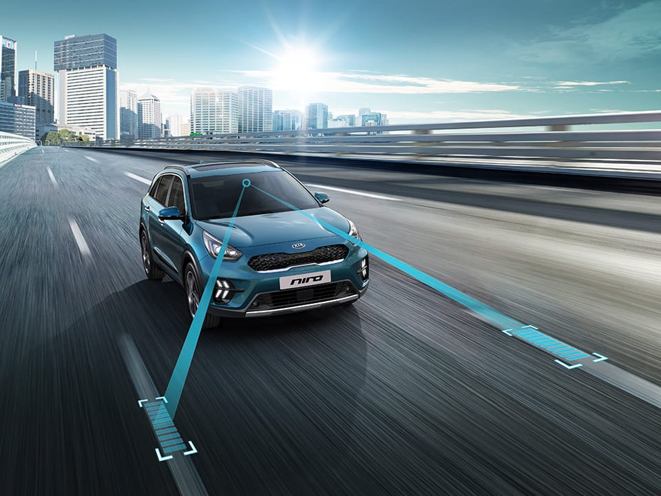 Kia Niro Lane Following Assist