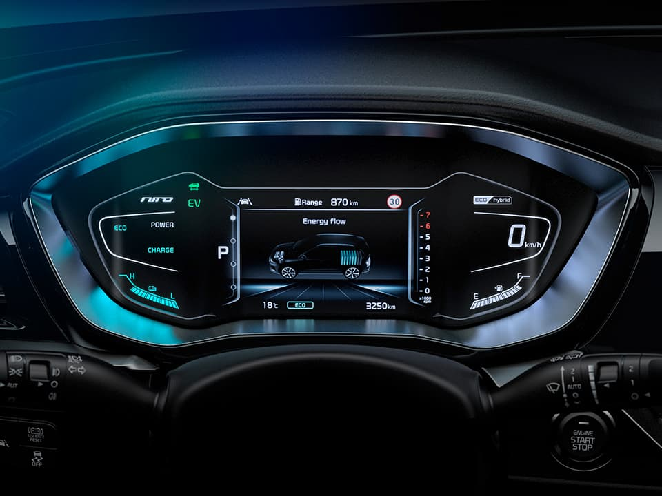 Kia Niro petrol and electric power