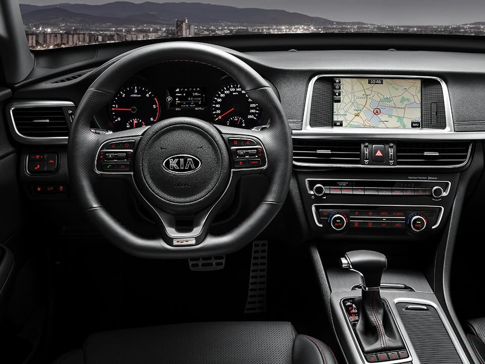 KIA Optima GT – features