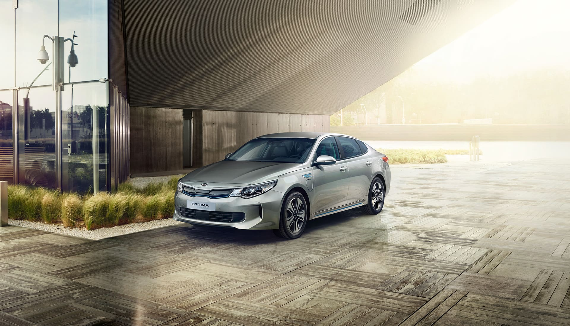 Design de la Kia Optima Plug-in Hybrid