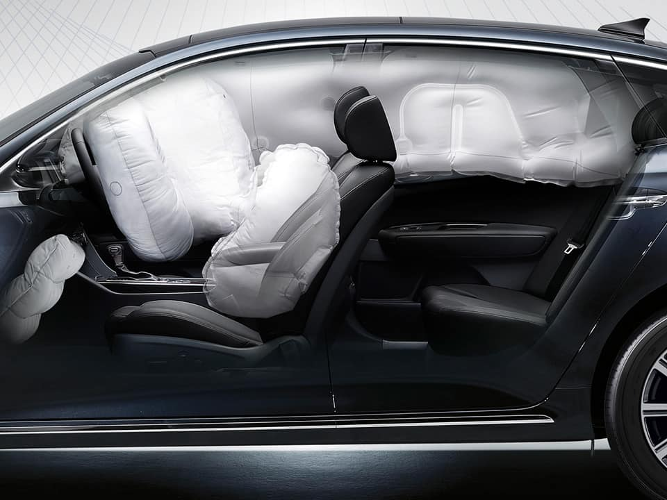 Kia Optima Plug-in Hybrid air bags